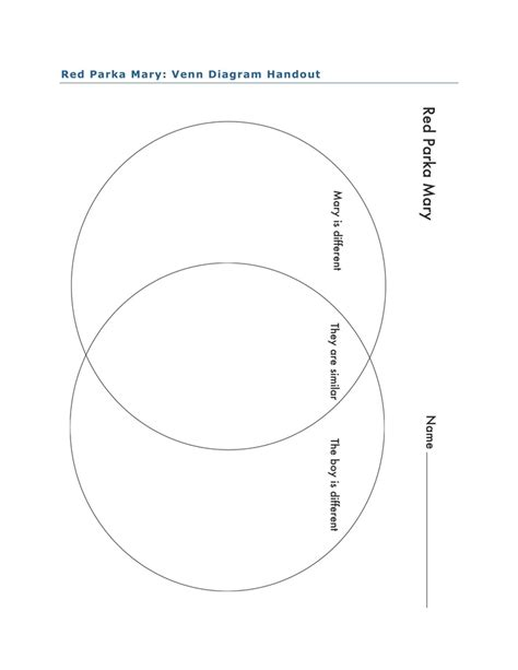 venn diagram lesson plan venn diagram activity for parka by