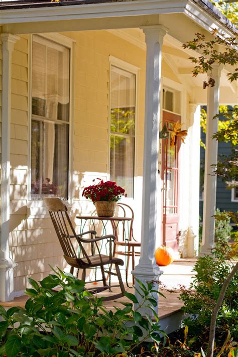 decorate front porch for fall 120 fall porch decorating ideas shelterness