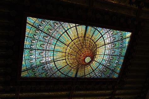 barcelona photoblog catalan modernisme stained glass