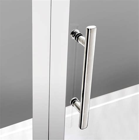 Hinged Frameless Shower Doors Crown 700mm Frameless Hinged Shower Door