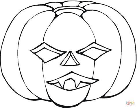 printable pumpkin mask coloriage citouille d halloween qui fait peur