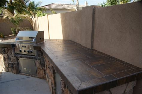 outdoor kitchen countertop ideas outdoor countertops landscaping network