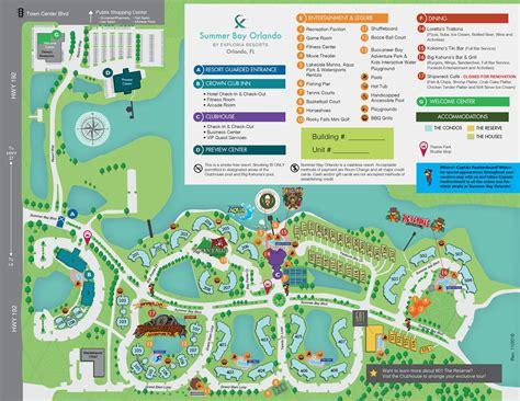 florida resorts map summer bay resort map orlando florida exploria resorts