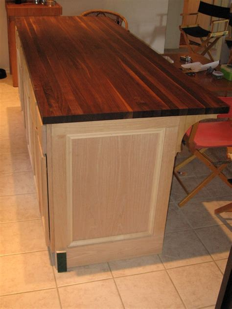 build kitchen island diy kitchen island cabinet the owner builder network