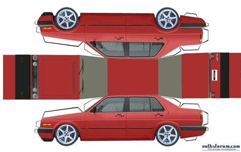 How To Make Cars Out Of Paper - 6 best images of printable car cutouts printable car cut