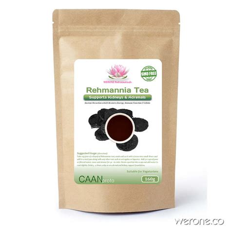 Adrenal Detox Tea by Rehmannia Kidney Adrenal Cardio Tonic 160g Werone