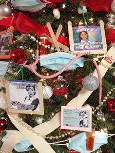 christmas tree decorations for nurse graduate nurses tree diy repurposing trees trees and