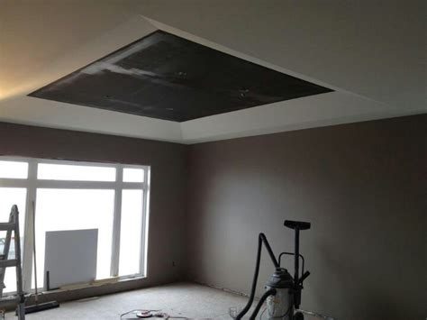Trayed Ceilings by Trayed Ceiling New House Brandon Manitoba