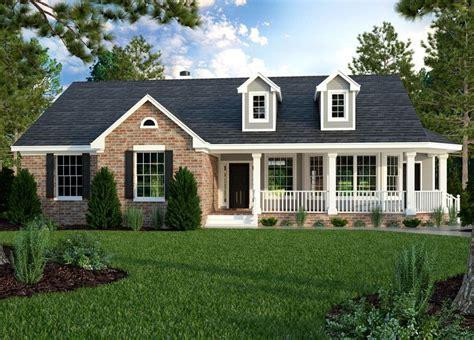 brick ranch house plan 68011hr 1st floor master suite best 25 brick ranch houses ideas on pinterest brick
