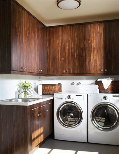 creative laundry room ideas 15 creative laundry room design with wooden furniture