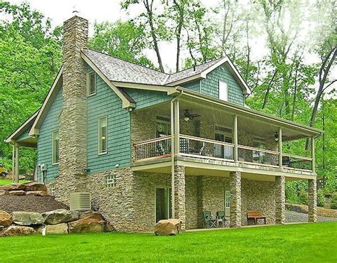 house plans with walk out basement craftsman cottage ii 1876 4 bedrooms and 3 baths the house designers