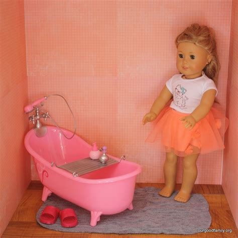 how to build american girl doll house how to make an american girl dollhouse our good life