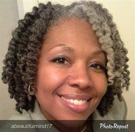 salt pepper african american natural hair images 733 best images about natural gray hair care on pinterest
