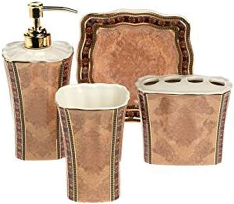 croscill townhouse 4 bath accessory set