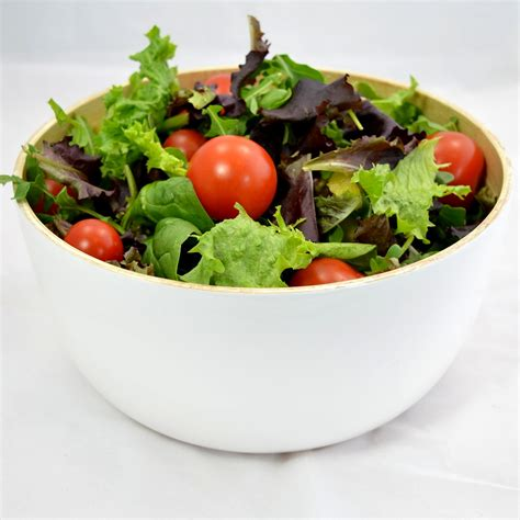 pretty bamboo salad bowl from nature decohoms