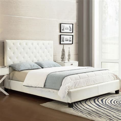 full bed white homesullivan toulouse white full upholstered bed
