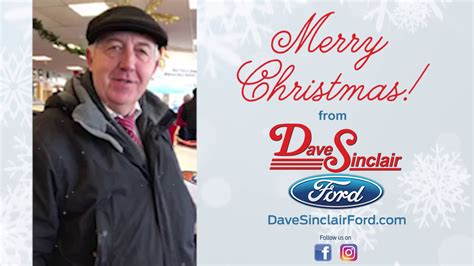 merry christmas  dave sinclair ford youtube