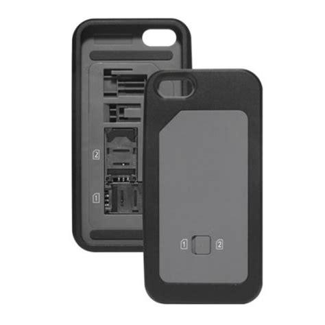 iphone k nh n sim thumbsup dual sim for iphone 5s 5 black