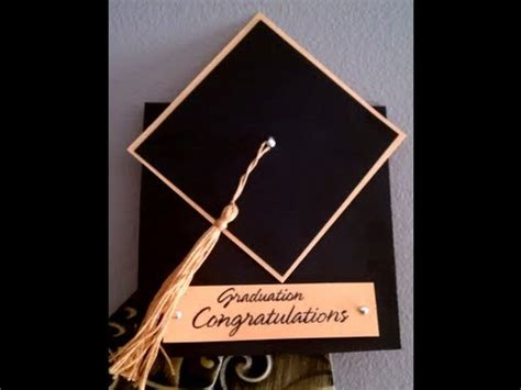 How To Make A Graduation Cap Out Of Paper - how to make a tassel graduation cap card