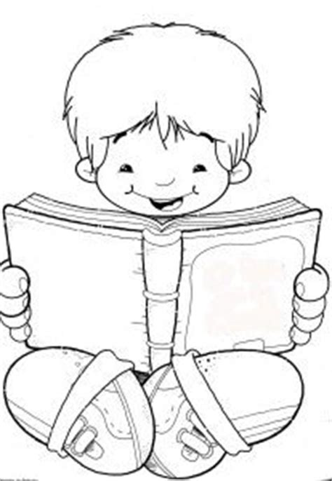 boy reading coloring page 1000 images about digital sts on pinterest digital