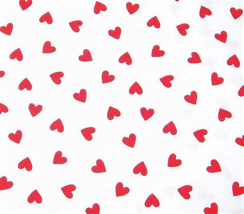 romantic valentine heart fabric by dearmesudsnh on etsy