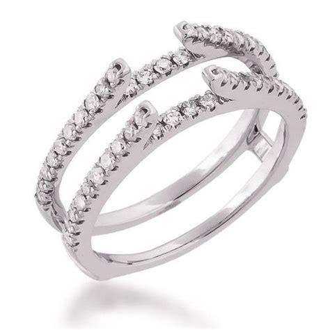 white gold ring guard wedding ideas