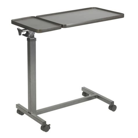drive multi purpose tilt top split overbed table hill rom 1039 1048 bariatric bed vitality