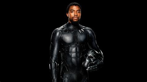 wallpaper black panther chadwick boseman  movies
