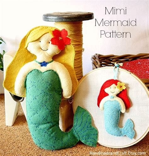 Handmade Felt Craft Patterns - felt ornament patterns on sale