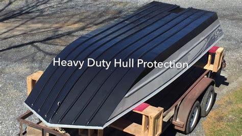 aluminum boat hull coating k5 polyurea application jet boat hull protection youtube