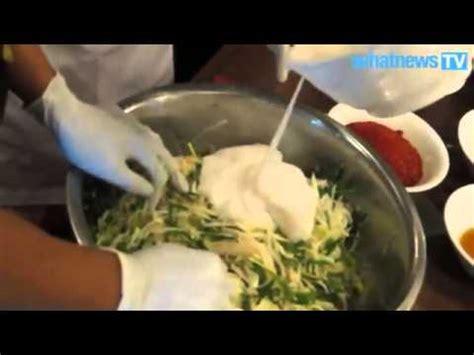 cara membuat salad sayur ala korea cara membuat kimchi sayur sawi yang di fermentasi ala