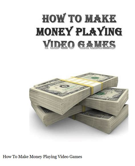 How To Make Money Online By Playing Games For Free - make money playing online games well done stuff