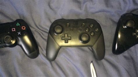 switch pro controller vs ps4 controller vs wii u pro controller comparison
