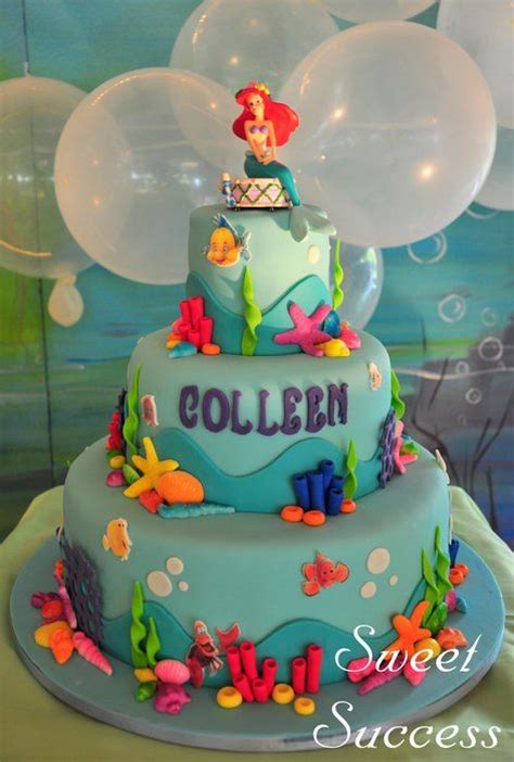 Ariel Birthday Cake Decorations by 25 Best Ideas About Mermaid Birthday Cake On