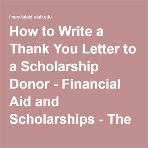 Thank You Letter For Alumni Donation sle thank you letters for financial assistance 30