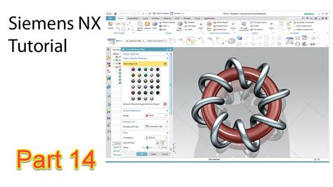youtube tutorial nx spring ring nx tutorial youtube