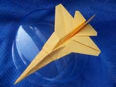 Origami F 16 - f 16 tem boun gilad s origami page