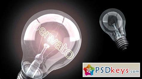 bright effects light bulbs bright idea light logo after effects projects