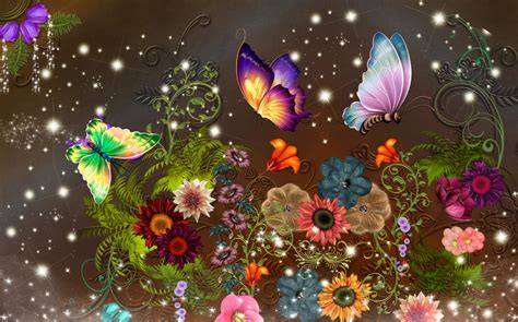 wallpaper flower fantasy bloomin fantasy wallpaper and background image 1283x800