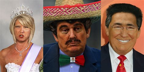 trump presidential makeover trump gets a mexican makeover for new charity project