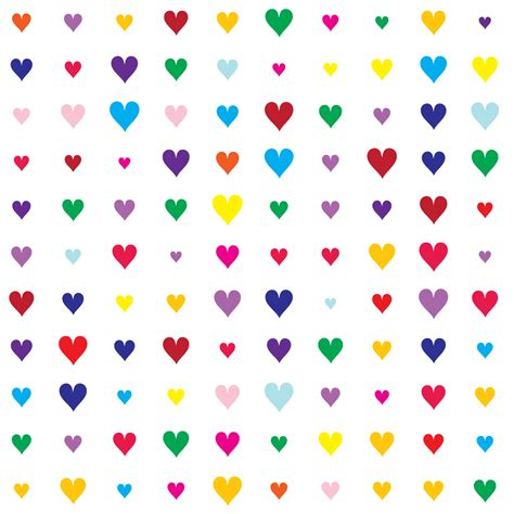 heart pattern svg colorful valentines hearts pattern vector free vector