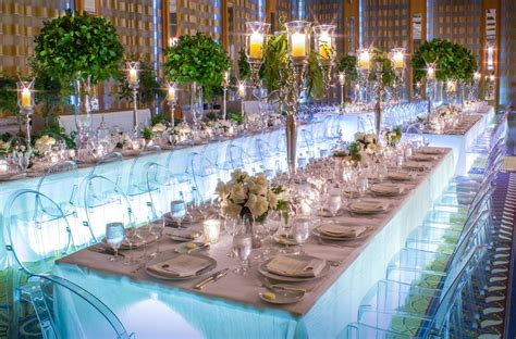 Round Formal Dining Room Tables wedding dining trends grandeur of king s tables