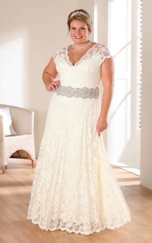 Casual Wedding Dresses Large Size 40 by Informal Plus Size Wedding Dresses Casual Plus Size