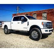 2017 Ford F250 Platinum 4x4 Leveled 37s New F 250  Used