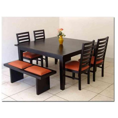 dining room tables with benches and chairs small dining room table with 4 chairs chairs set of