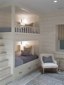 built in bunk beds 26 cool and functional built in bunk beds for kids digsdigs