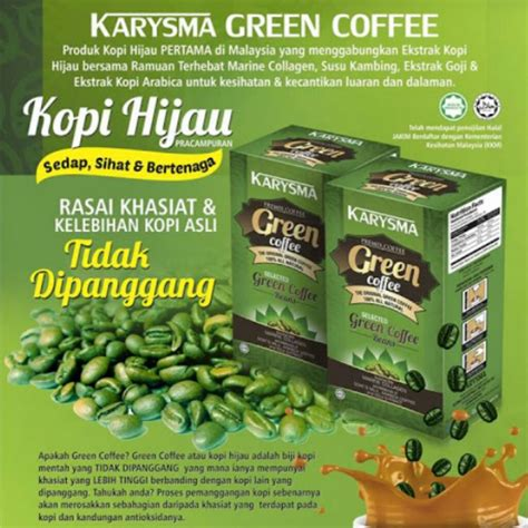 Green Coffee Di Surabaya green coffe kopi hijau plus collagen daftar update harga