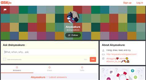 ask fm sign up aisyasakura