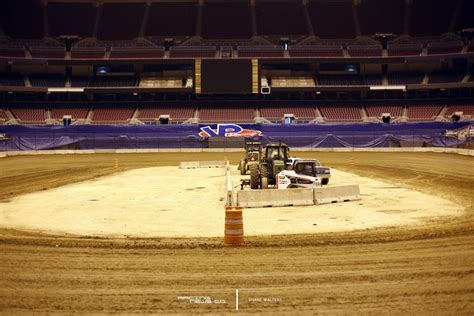 motocross race track gateway dirt nationals track photos st louis dome dirt