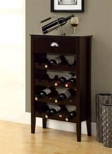 monarch specialties wine rack cappuccino storage for 16